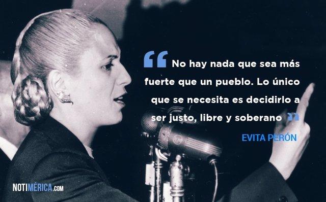 Las 10 Frases Mas Celebres De Evita Peron