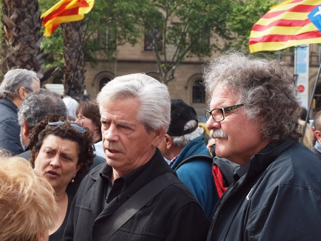 Joan Tardà y Eduardo Reyes