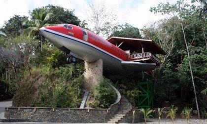 """¿Quiere alojarse en un hotel de """"altos vuelos""""?"""