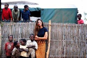 Stéphannie Oliveira en la India