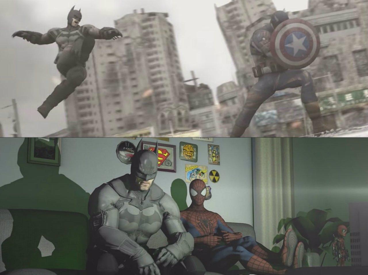 Enfrentamiento entre Marvel y DC