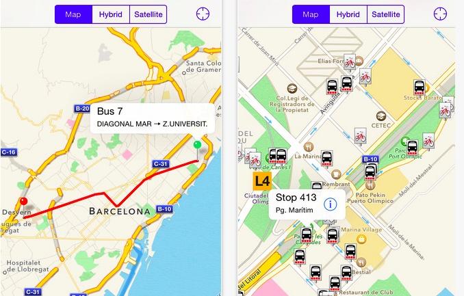 8 aplicaciones gratuitas de transporte público que te harán