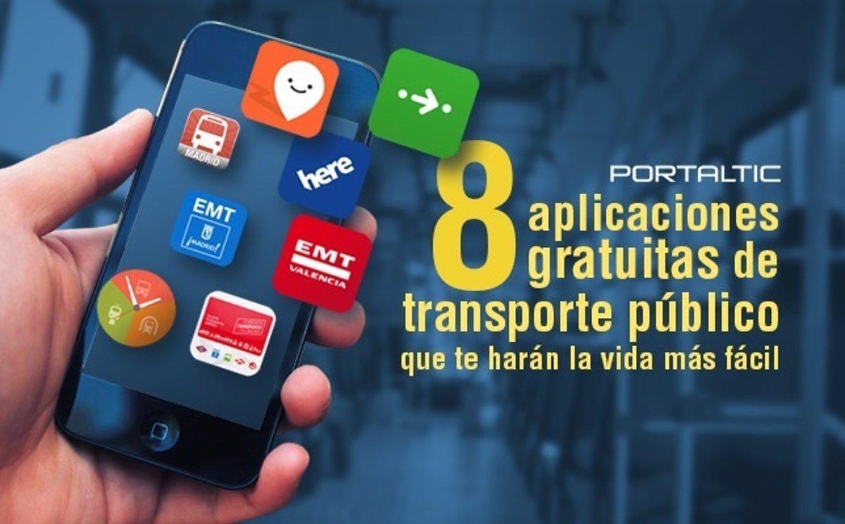 8 aplicaciones gratuitas de transporte público que te harán la vida más  fácil