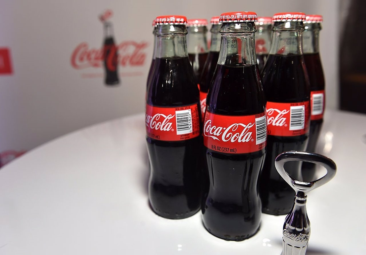 Botella contour de Coca-Cola