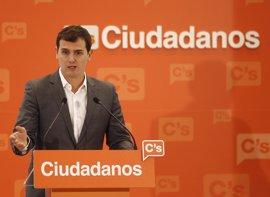 Ciudadanos mantendrá el gasto en campaña y exige a PP y PSOE un tope de 6,5 millones