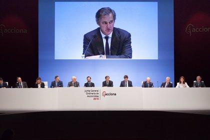 Acciona propone a su junta elevar un 25% el dividendo