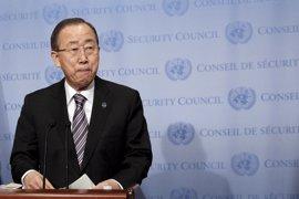 Ban Ki Moon condena el atentado contra policías en las afueras de El Cairo