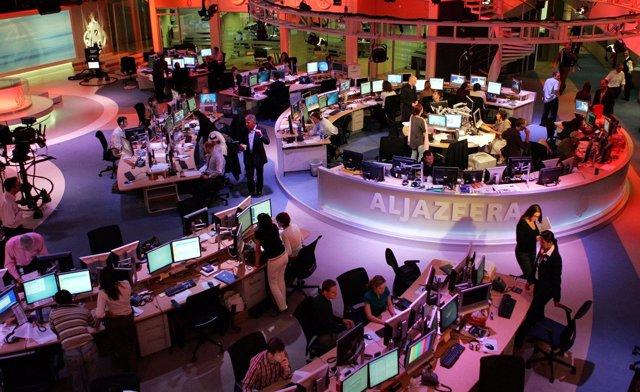 Sede de la cadena Al Yazira en Qatar