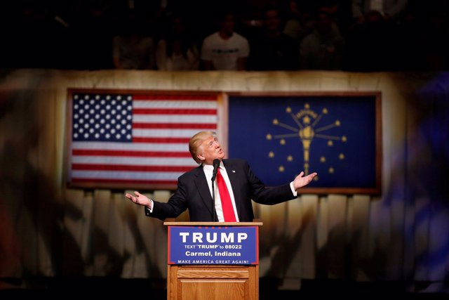 Donald Trump, aspirane en las primarias del Partido Republicano