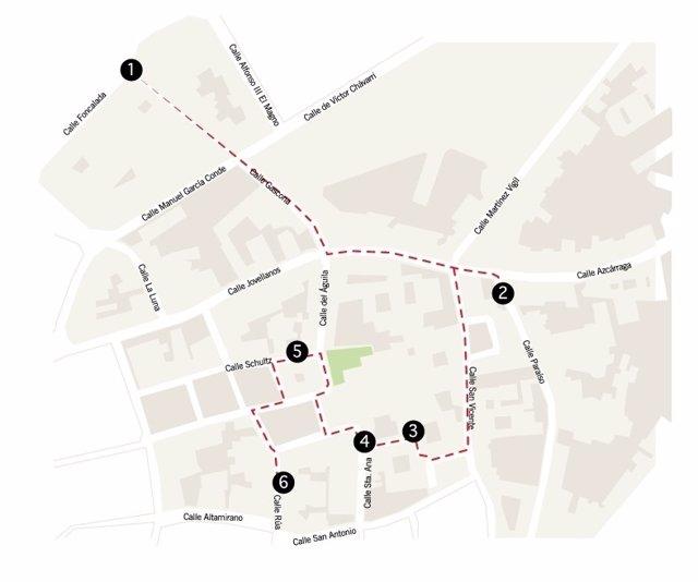 Ruta arqueológica por Oviedo