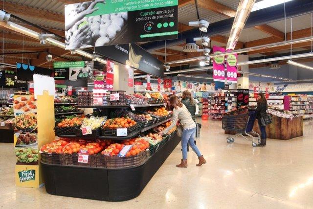 Nueva generación de supermercado Caprabo