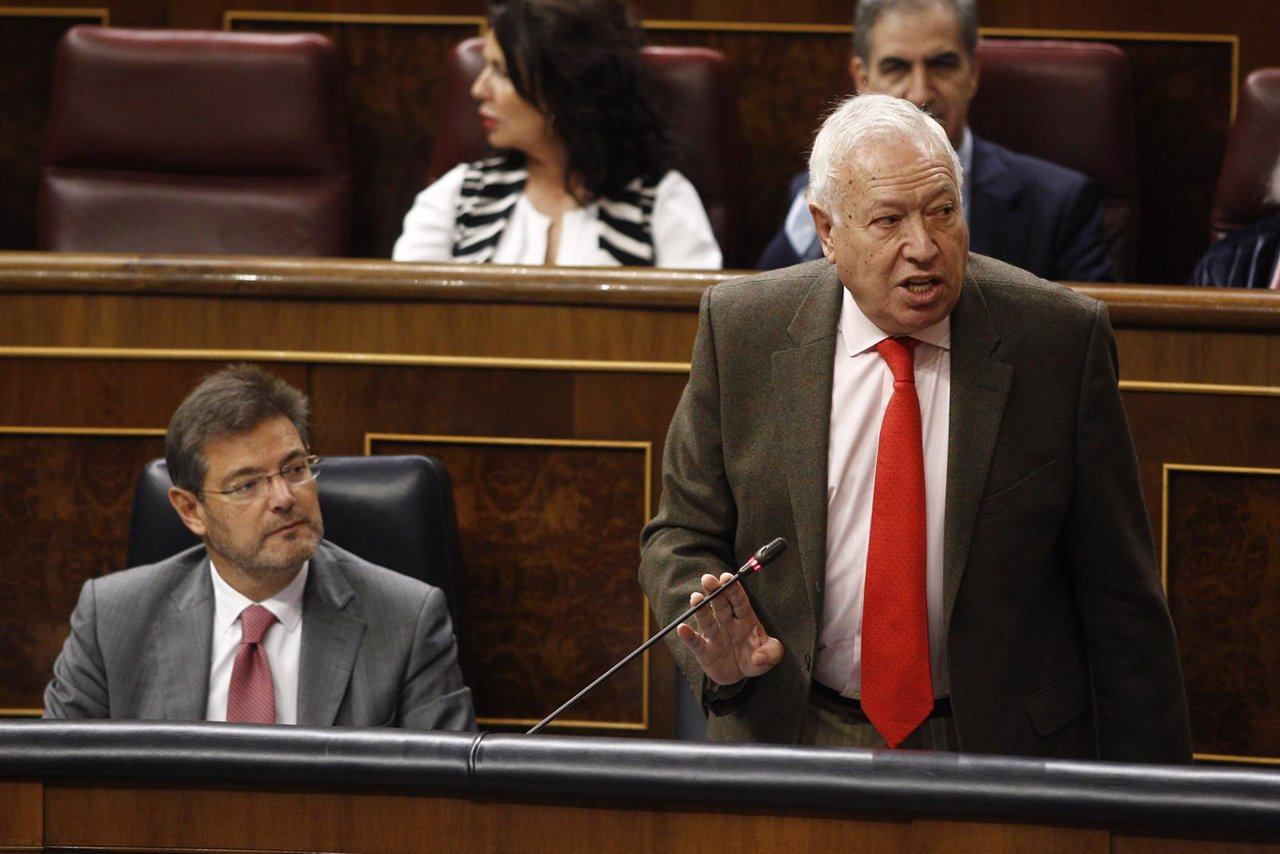 José Manuel García-Margallo en el Congreso