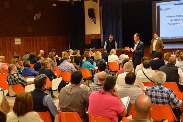 La Consejería De Educación Planifica Con Directores E Inspectores Las Plantillas