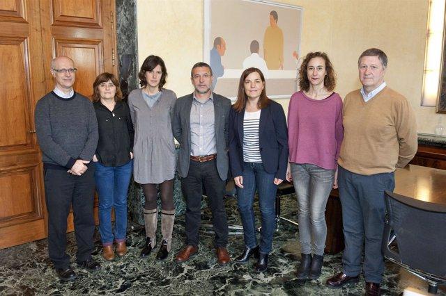 Gobierno de Navarra subvenciona a la Coordinadora de ONGD.