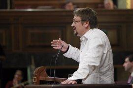 26J.- Xavier Domènech (EnComúPodem): el preacuerdo Podemos - IU acerca el referéndum