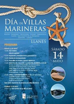 Cartel del evento de Villas Marineras