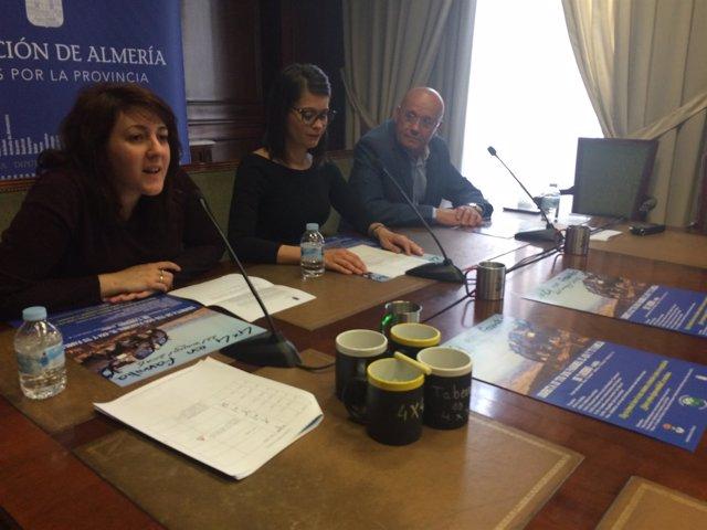 La actividad de 4x4 en Taberno se ha presentado en la Diputación de Almería.