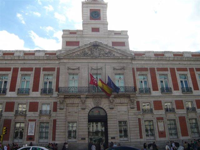 Edificio de la Presidencia de la Comunidad de Madrid