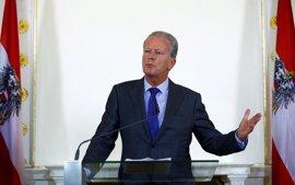 El canciller en funciones no descarta elecciones anticipadas en Austria