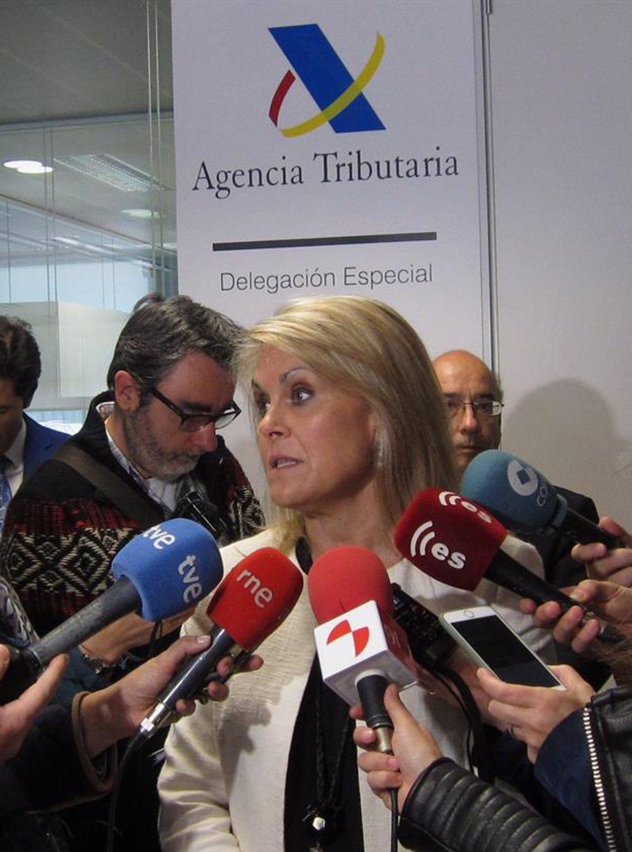 La delegada especial de la Agencia Tributaria en CyL, Georgina de la Lastra,