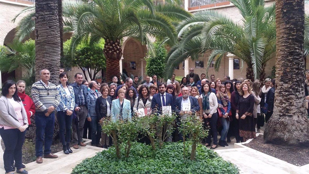 Entregas de libros de Diputación de Jaén