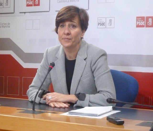 Blanca Fernández, portavoz del PSOE en las Cortes de C-LM