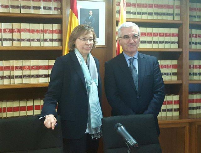 Maria Teresa Ribas y Gonzalo David García de Castro