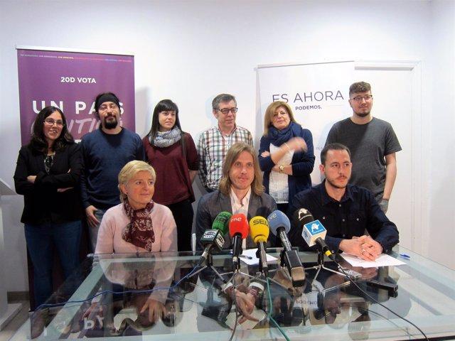 Gestora de Podemos en Salamanca