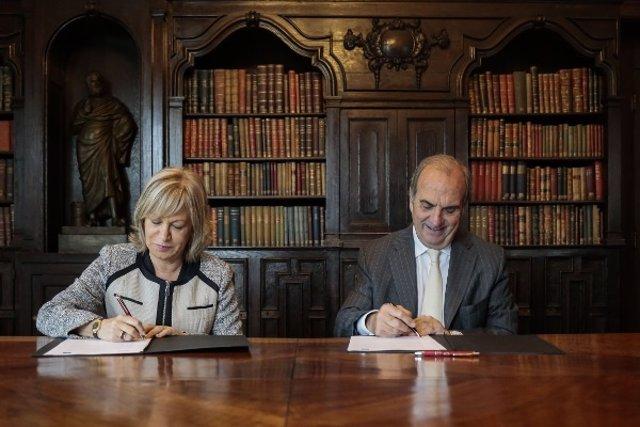 M.Á. Tejada (Randstad) y J.Gay de Montellà