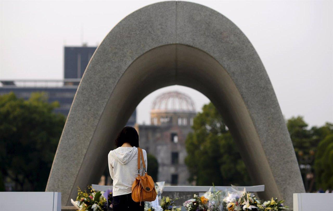 Monumento a las víctimas de Hiroshima