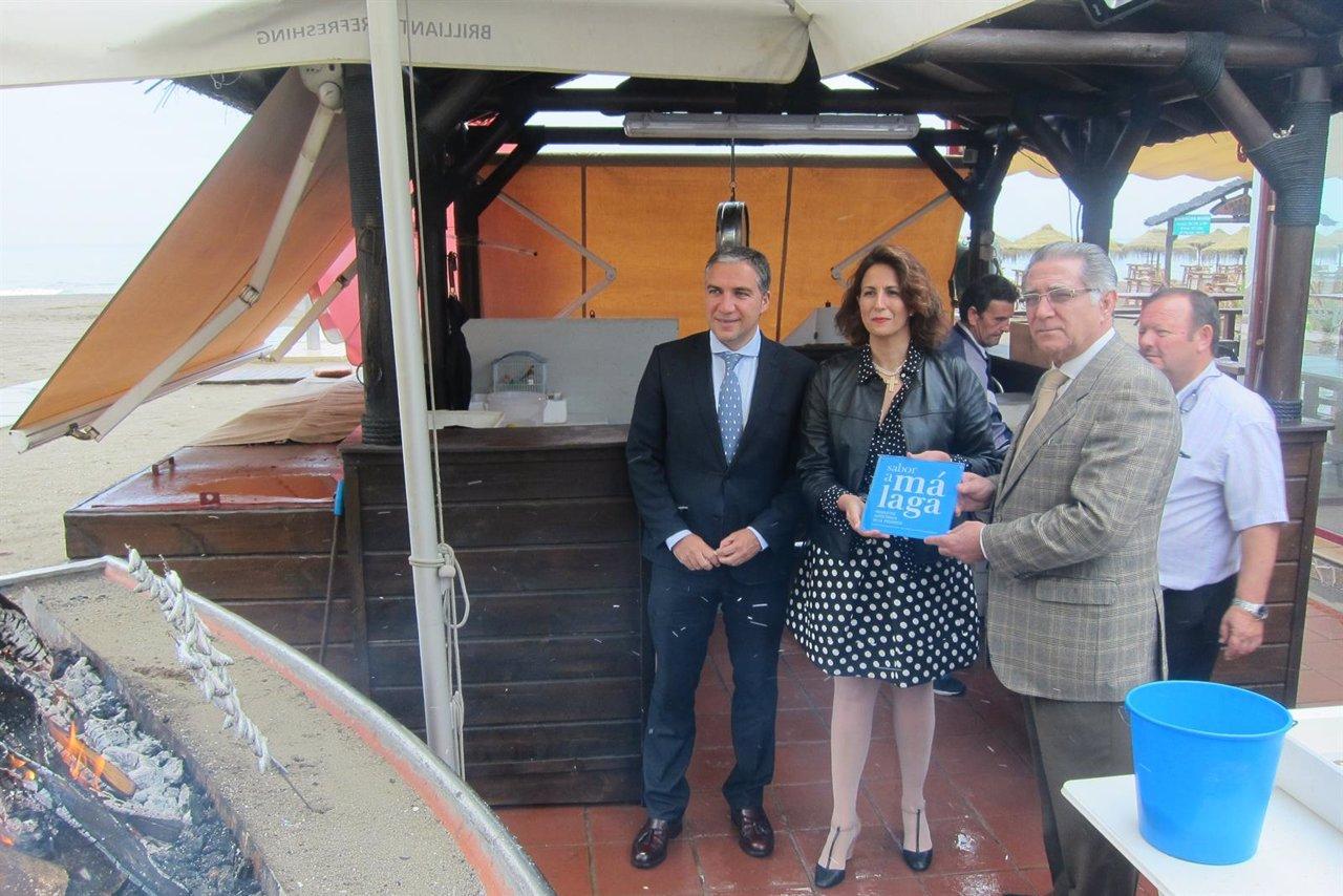 Bendodo, Isabel Borrego y Manuel Villafaina.