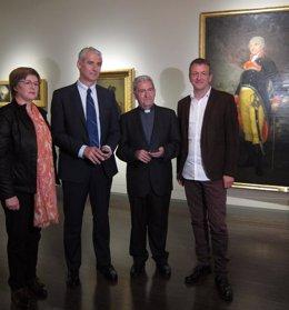 Añaños, Sánchez, Almor y Rivarés han presentado la nueva ruta dedicada a Goya
