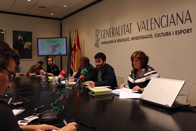 Vicent Marzà presenta la nueva oferta de FP