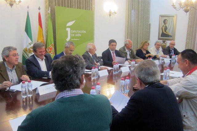 Reunión de la comisión técnica del Paisaje Cultural del Olivar.