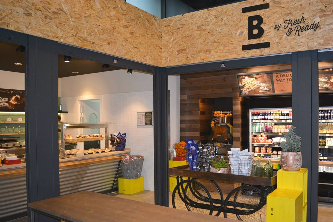 B by fresh and ready' en la T2 del Aeropuerto de Barcelona