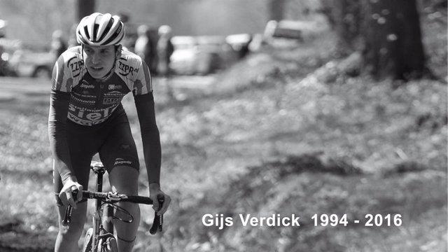 El ciclista holandés Gijs Verdick
