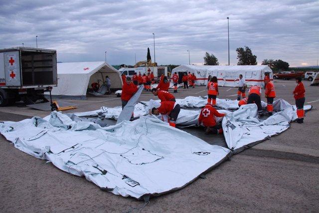 Inauguración Del Centro Logístico De Cruz Roja En La Región De Murcia