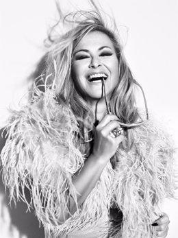 La cantante Anastacia