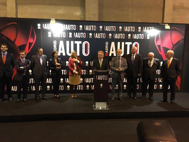 Inauguración Madrid Auto