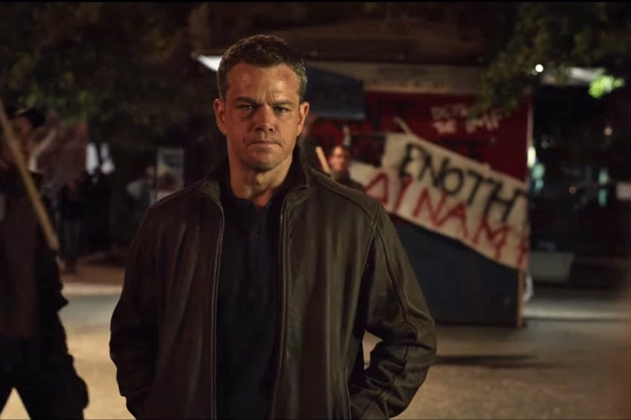 Matt Damon en Jason Bourne