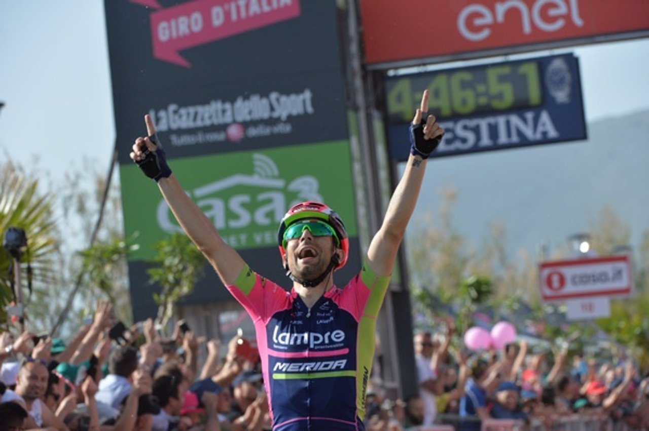 Diego Ulissi gana la cuarta etapa del Giro 2016