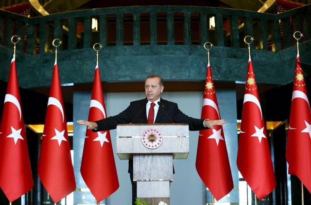 Intervención de Erdogán tras el atentado suicida en Estambul, Turquía