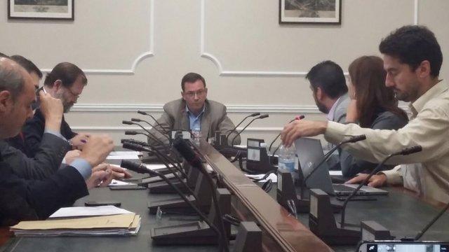 Jesús Gordillo en la Comisión de Investigación municipal sobre Taula
