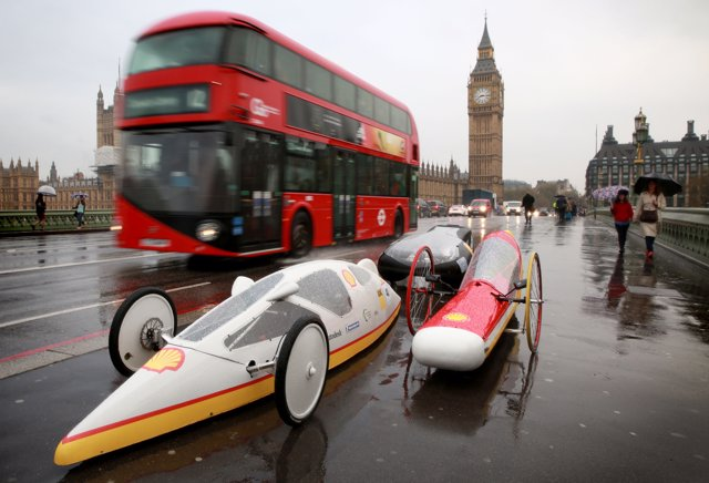 EDITORIAL USE ONLY5 futuristic hyper-efficient cars, designed by students from t