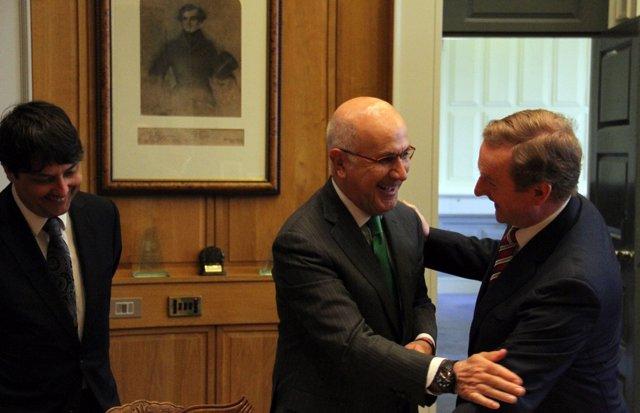 Josep Antoni Duran y Enda Kenny
