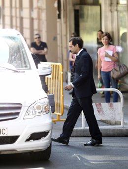 Salvador Victoria tras declarar en la Audiencia Nacional