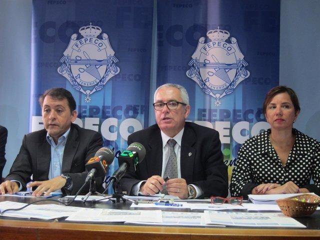 Rueda de prensa de Fepeco y el Ayuntamiento