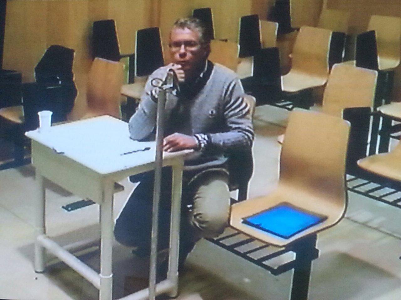 Francisco Granados declara en la comisión de la Asamblea de Madrid