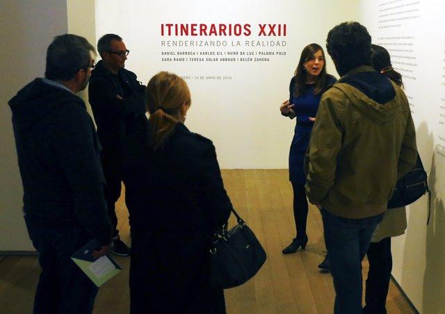 Visita guiada a la muestra 'Itinerarios XXII'
