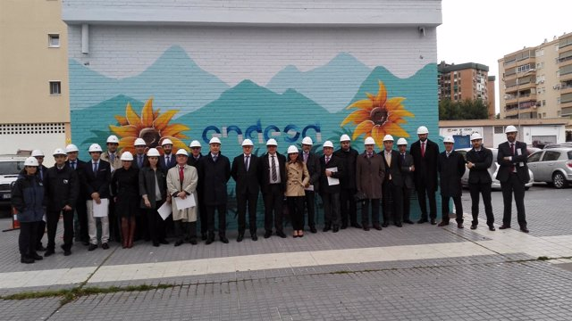 Inauguración de Microgrid en Málaga